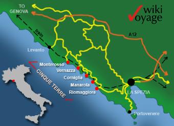 - Cinque Terre - Italie - Wikimedia Commons -