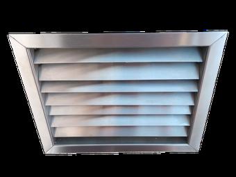 Rejilla de ventilación a medida
