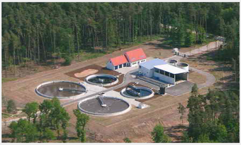 Luftaufnahme Kläranlage Mittlere Wörnitz