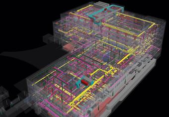 Building Information Modeling BIM Spital Limmattal