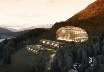 Objekt Hotel InterContinental Resort & Spa, Davos   Auftraggeber/Bauherr Credit Suisse   Projektumfang Elektroplanung, MSRL-Planung, Lichtplanung, Fachbauleitung, integrale Tests.