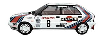 lancia delta 4 martini racing vettura da rally di pubblimais a torino