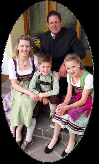 Familie Knoll, Bachangerhof, Kössen
