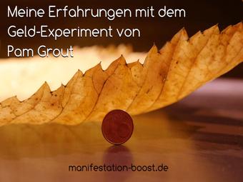 Meine Erfahrungen mit dem Geld-Experiment von Pam Grout