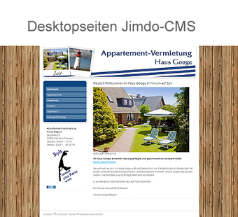 Jimdo-Seiten Internetagentur Heckmann