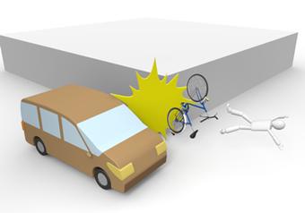 前橋市のひらい接骨院では自転車や歩行中の交通事故治療も対応しています。