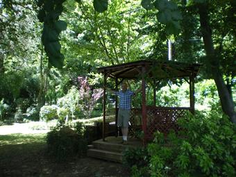 Kiosque en été