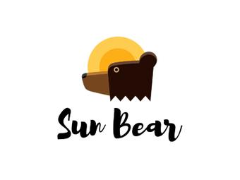 sun-bear tractor logo