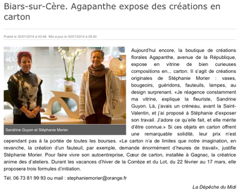 Expo Agapanthe - Biars - janvier 2014