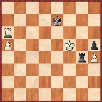 Mauelshagen - Rahimi, R: Sehr lehrreich ging Weiß hier an dem möglichen Gewinn mit 51.Ta8! vorbei. Der Schlüssel zum Sieg ist das schnelle vorziehen des a-Bauern und ausnutzen der schlechten schwarzen Königsstellung