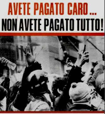 Autonomia Operaia - demonstration (Avisen 'Rosso')