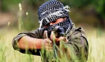 Kurdisk YPG-milits fighter fra arbejder- partiet PKK/PYD