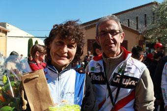 JP organisateur: avec J. Longo en 2013 (GP La Roue Libre)