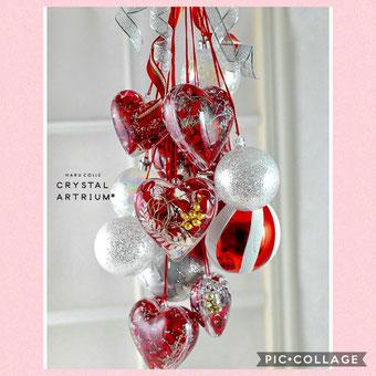 #クリスタルアートリウム#固めるハーバリウム#プリザーブドフラワー#クリスマススワッグ#クリスマスデコレーション#クリスマス#手作りウェディング