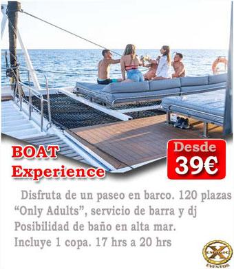 Boat party para despedidas de solteras en Conil de la frontera