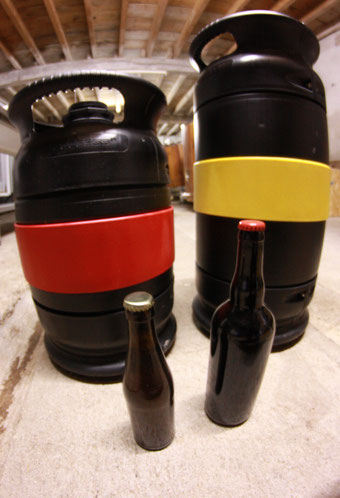 Fûts bouteilles bière ICSAS
