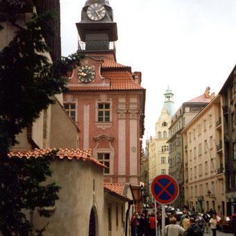 Prag im Judenviertel