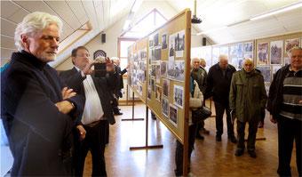 Eröffnung der Bilderausstellung im Feuerwehrhaus Großvillars