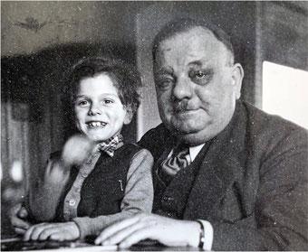 Fabrikant Heinrich Blanc, das Foto kam in Großvillars ins Archiv