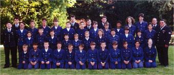 Jugendfeuerwehr Oberderdingen 1995