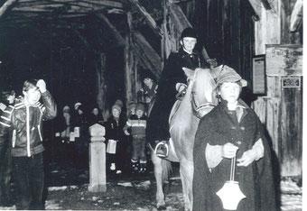 Martinsumzug 1980 in Heinfels