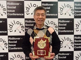 ☆この写真日本経済新聞社の上田 敬様に撮影していただきました。お許しを得てアップ。