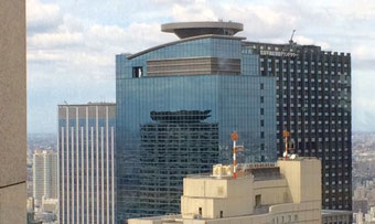 ☆32階の都庁職員食堂から見た景色。