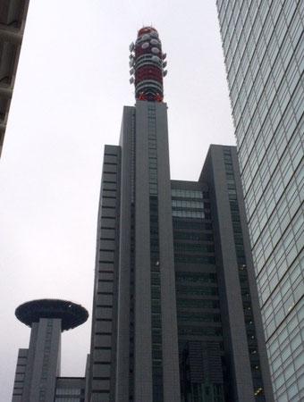 ☆正面が埼玉合同庁舎1号館。その奥左側は合同庁舎2号館。