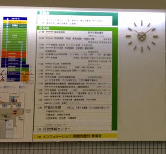 ☆シビックホールの時計は10:08