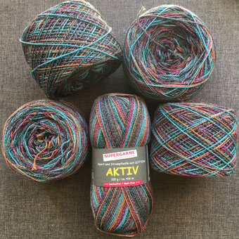 Aktiv Cotton Supergarne, Strickhose