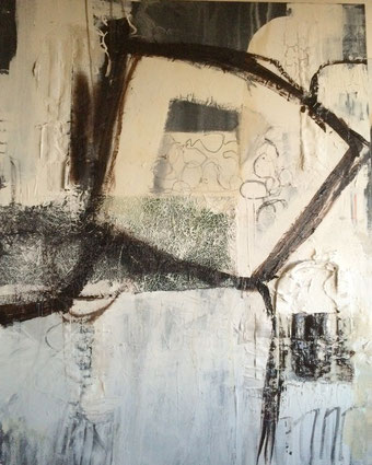 Bild: Identity: 80 x 100 x 3 cm, auf Leinwand, Acryl-Mischtechnik