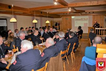 Jahreshauptversammlung 2018 im Gasthaus Kienberger
