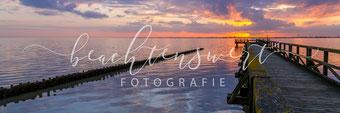 beachtenswert fotografie, Fotokunst, Landschaft, Schobüll, Husum, Steg, Abendstimmung, Sonnenuntergang, Nordfriesland