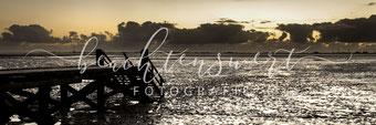 beachtenswert fotografie, Fotokunst, Landschaft, Watt, Husum, Dockkoog, Nordfriesland, Steg, Abendstimmung, Sonnenuntergang