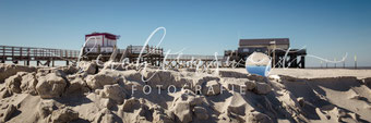 beachtenswert fotografie, Fotokunst, Landschaft, Sankt Peter-Ording, Pfahlbauten, Nordfriesland, Glaskugel