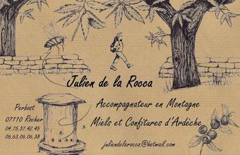 Julien de la Rocca délices Ardèche