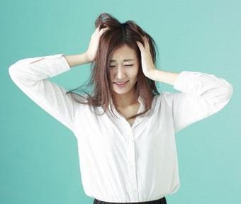 パニック障害に悩む女性