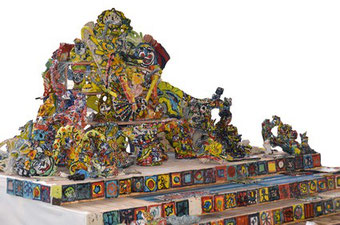 Maquette du Colossal d'Art brut (Photo S. Panarotto)