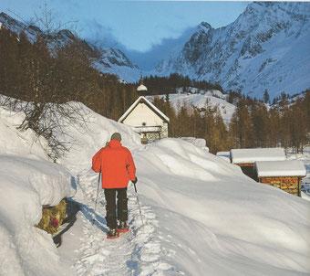 Schneeschuhtour Fafleralp