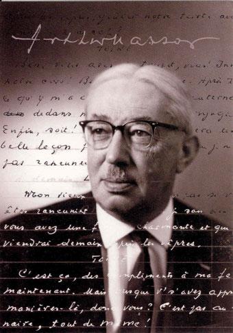 Portrait d'Arthur Masson
