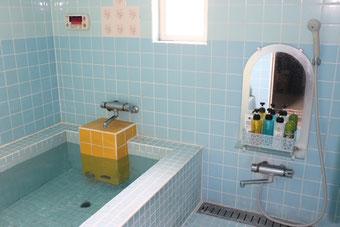 風来坊のお風呂。24時間入浴OK。