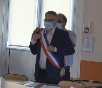 Dominique Moyse est le nouveau maire de Condé-en-Brie.