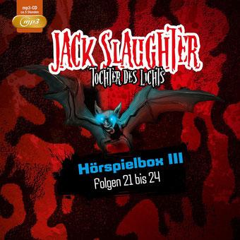 CD-Cover Jack Slaughter - Hörspielbox 3