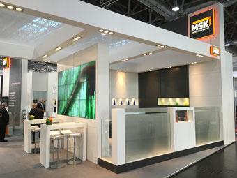 Messebau, Construcción de Stands, Booth construction