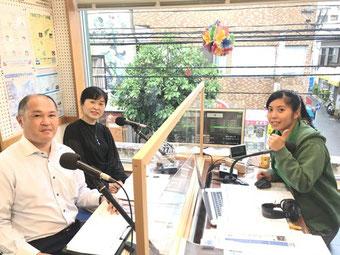 写真:あまみFM出演時(2020年7月)