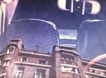 François Dufrêne, 3 minutes en vitesse, AXE Film, 1976 (still), Guy Schraenen AXE FILM