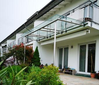 RMF Terrassendach Edelstahl