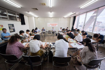 第1回・定期円卓会議(2018/8/11)