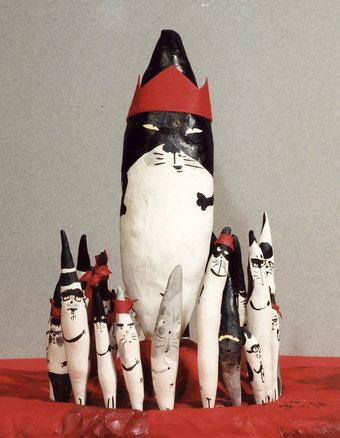 猫 猫衆 しっぽ人形 ノラ ボス 寅さん 詩