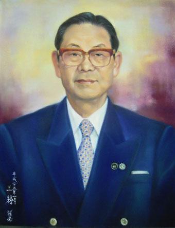 肖像画 パステル画 人物画 会長 社長 パステル画教室